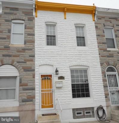 1536 Patterson Park Avenue, Baltimore, MD 21213 - #: 1000040811