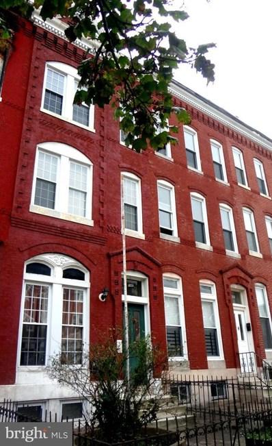 1833 Baltimore Street W, Baltimore, MD 21223 - MLS#: 1000040889