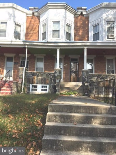 3442 Piedmont Avenue, Baltimore, MD 21216 - MLS#: 1000040995