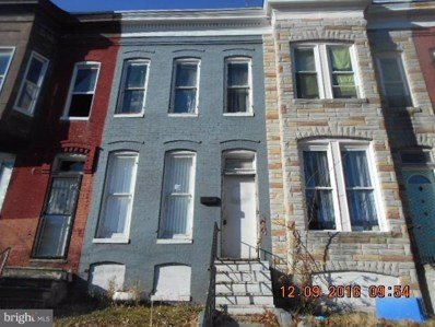 1806 Braddish Avenue, Baltimore, MD 21216 - MLS#: 1000041073