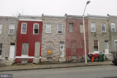 2545 Hollins Street, Baltimore, MD 21223 - MLS#: 1000041459