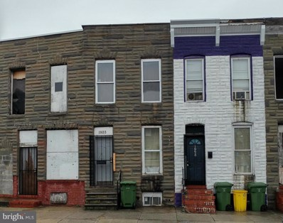 1923 Ramsay Street, Baltimore, MD 21223 - #: 1000041489