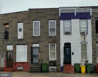 1923 Ramsay Street, Baltimore, MD 21223 - MLS#: 1000041489