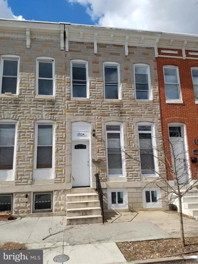 1524 Bond Street N, Baltimore, MD 21213 - MLS#: 1000041535