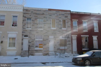 2009 Hollins Street, Baltimore, MD 21223 - MLS#: 1000041575