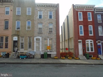 1209 Mosher Street, Baltimore, MD 21217 - MLS#: 1000041607
