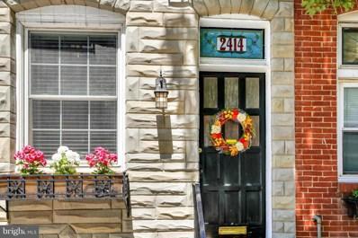 2414 Hudson Street, Baltimore, MD 21224 - MLS#: 1000042455