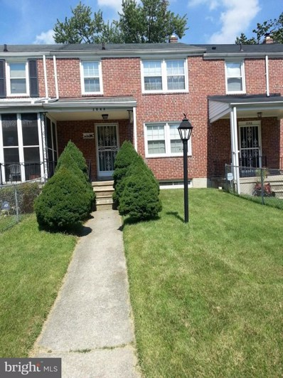 1044 Reverdy Road, Baltimore, MD 21212 - MLS#: 1000042561