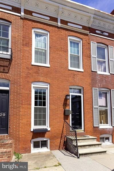 1231 Patapsco Street, Baltimore, MD 21230 - MLS#: 1000043601