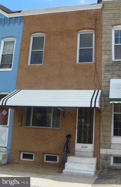 417 24TH Street, Baltimore, MD 21211 - MLS#: 1000044617
