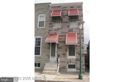 823 Robinson Street, Baltimore, MD 21224 - MLS#: 1000045521
