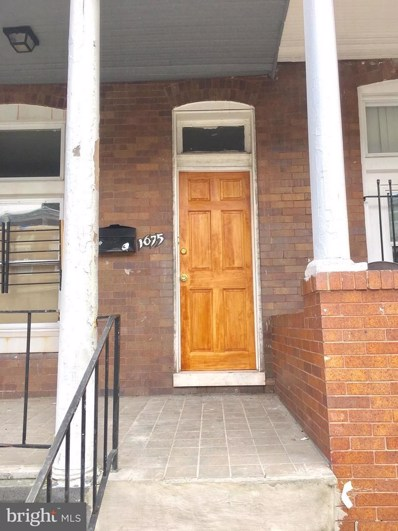 1675 Cliftview Avenue, Baltimore, MD 21213 - MLS#: 1000046171