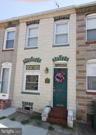 231 Castle Street S, Baltimore, MD 21231 - MLS#: 1000046205