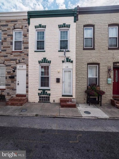 115 Glover Street, Baltimore, MD 21224 - MLS#: 1000046645