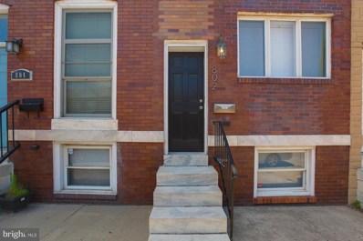 802 Grundy Street, Baltimore, MD 21224 - MLS#: 1000046757