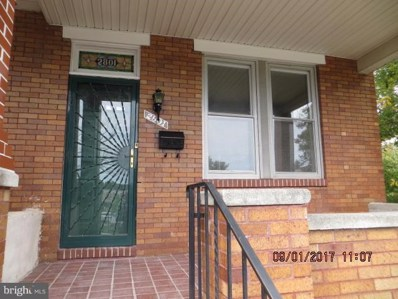 2801 Brendan Avenue, Baltimore, MD 21213 - MLS#: 1000048101