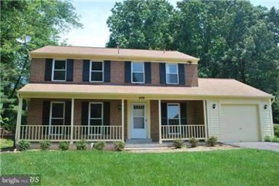 409 Wompatuck Court, Silver Spring, MD 20905 - MLS#: 1000052237
