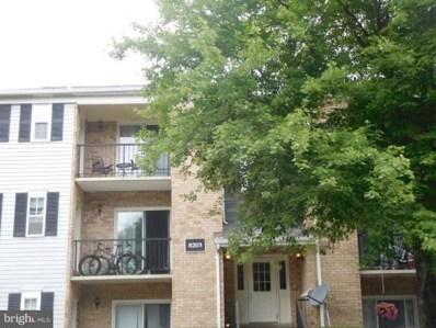 8203 Whispering Oaks Way UNIT 203, Gaithersburg, MD 20879 - MLS#: 1000056481