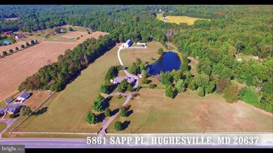 5861 Sapp Place, Hughesville, MD 20637 - MLS#: 1000076995