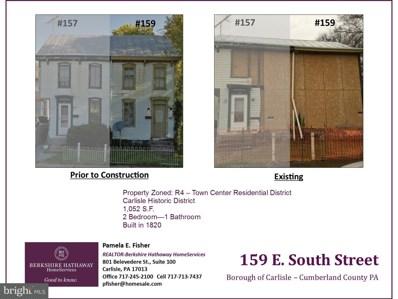 159 E South Street, Carlisle, PA 17013 - #: 1000103560