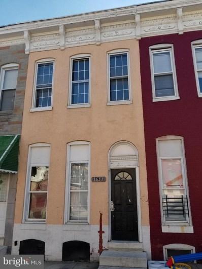 1631 Lafayette Avenue, Baltimore, MD 21213 - MLS#: 1000107952