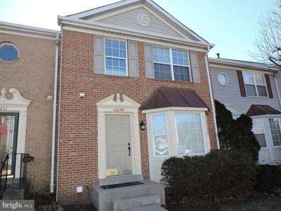43249 Clearnight Terrace, Ashburn, VA 20147 - MLS#: 1000115140