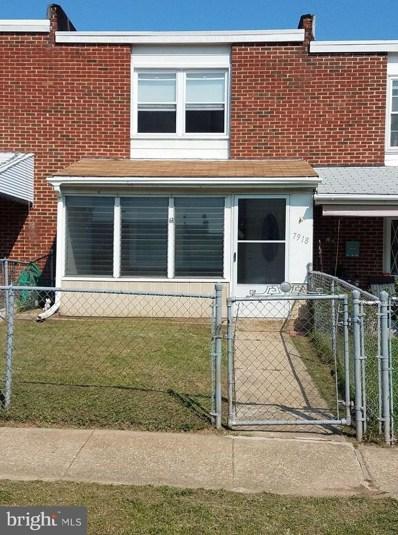 7918 Bank Street, Baltimore, MD 21224 - MLS#: 1000120805
