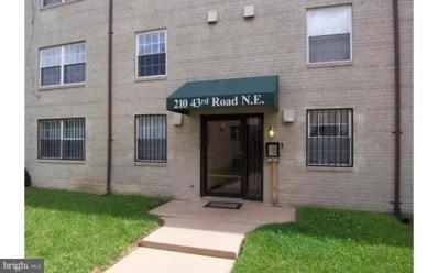 210 43RD Road NE UNIT 104, Washington, DC 20019 - MLS#: 1000123771