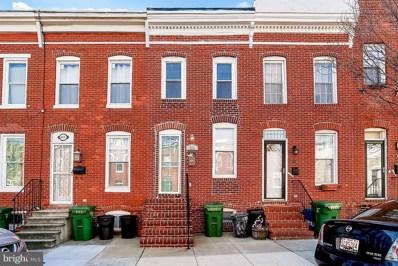 853 Woodward Street, Baltimore, MD 21230 - MLS#: 1000126800