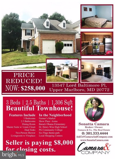 13547 Lord Baltimore Place, Upper Marlboro, MD 20772 - MLS#: 1000131070