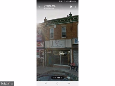 5510 N 5TH Street, Philadelphia, PA 19120 - MLS#: 1000132058