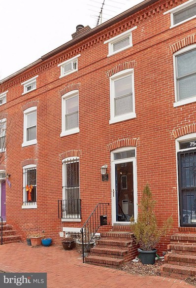 756 McHenry Street, Baltimore, MD 21230 - MLS#: 1000134266