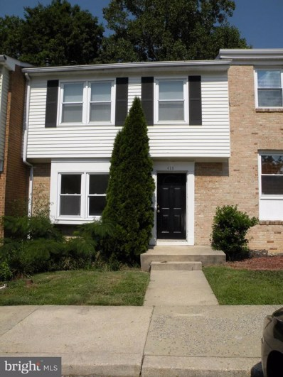 418 Colonial Ridge Lane UNIT 10, Arnold, MD 21012 - MLS#: 1000135599