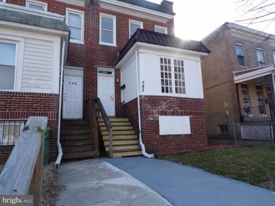 743 Cator Avenue, Baltimore, MD 21218 - MLS#: 1000135648