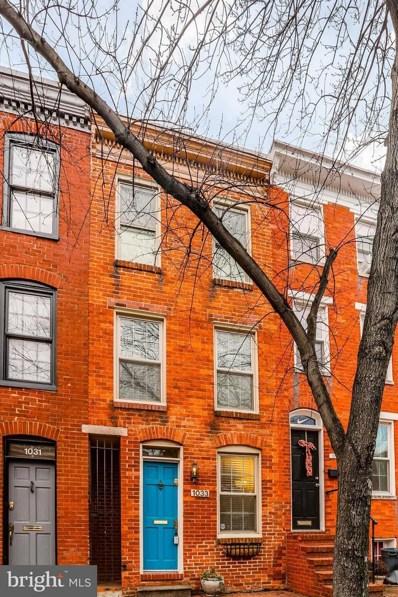 1033 Barre Street W, Baltimore, MD 21230 - MLS#: 1000136706