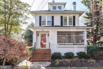 45 Southgate Avenue, Annapolis, MD 21401 - MLS#: 1000137450