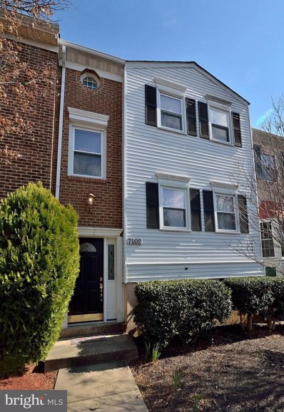 7102 Captains Cove Court, Alexandria, VA 22315 - MLS#: 1000140252