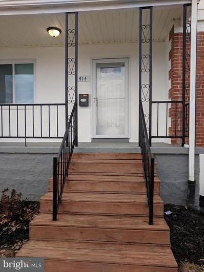 414 Elmwood Road, Baltimore, MD 21206 - MLS#: 1000142482