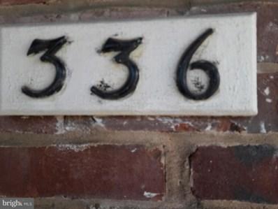 336 Hornel Street, Baltimore, MD 21224 - MLS#: 1000142996