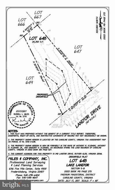 392 Land Or Drive, Ruther Glen, VA 22546 - MLS#: 1000143281
