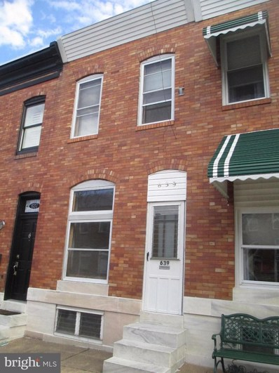 639 Curley Street, Baltimore, MD 21224 - MLS#: 1000144482