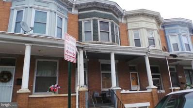 1713 Poplar Grove Street, Baltimore, MD 21216 - MLS#: 1000151326