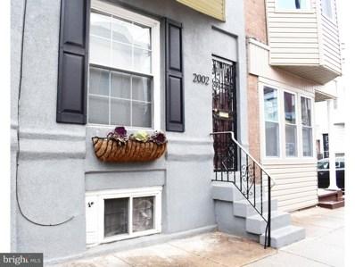 2002 S Opal Street, Philadelphia, PA 19145 - MLS#: 1000151824