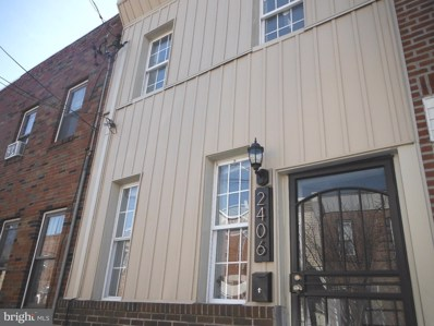 2406 E Sergeant Street, Philadelphia, PA 19125 - MLS#: 1000156914