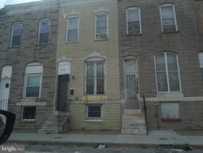 606 Glover Street N, Baltimore, MD 21205 - MLS#: 1000157852