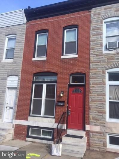 319 Bouldin Street S, Baltimore, MD 21224 - MLS#: 1000160144