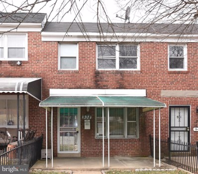 938 Franklintown Road, Baltimore, MD 21216 - MLS#: 1000161106