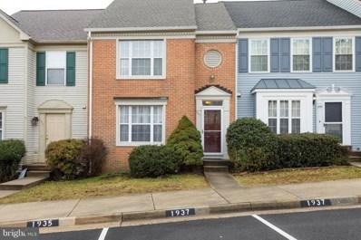 1937 Inglebrook Drive, Woodbridge, VA 22192 - MLS#: 1000164654