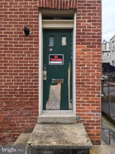 1740 Dallas Street, Baltimore, MD 21213 - MLS#: 1000166514