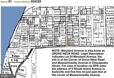 Grove Neck Rd At Massachusetts, Earleville, MD 21919 - MLS#: 1000167126